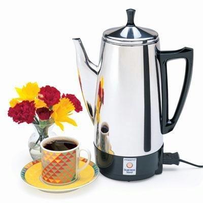 Presto Stainless Steel Coffee Percolator