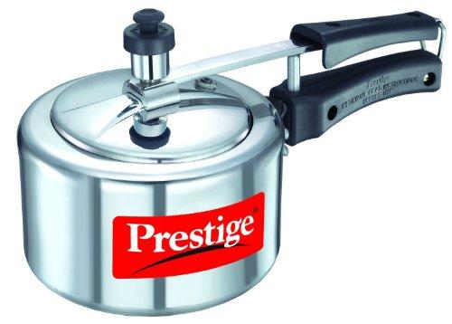 Prestige 11560 Nakshatra Aluminum Pressure Cooker 15 Liter Silver