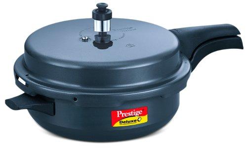 TTK Prestige 20354 Deluxe Plus Pressure Cooker Senior Dark Grey