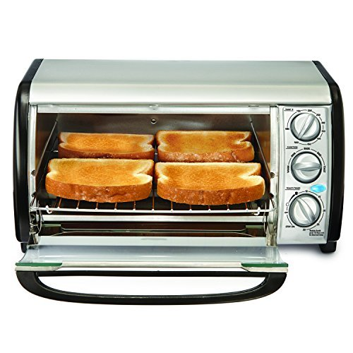 Bella 14326 4-Slice Toaster Oven - Toast Bake Broil and More