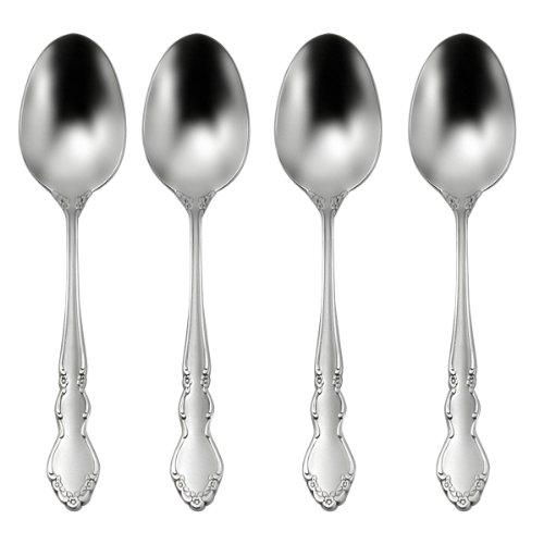 Oneida Satin Dover Dinner Spoons Set of 4