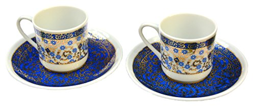 Turkish Porcelain Coffee Cup-two cup set-2