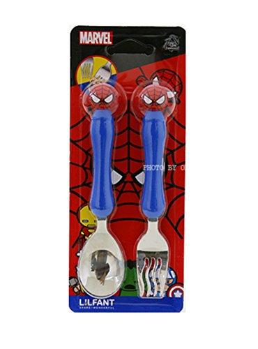 Marvel Spider-man Kids Spoon Fork Set