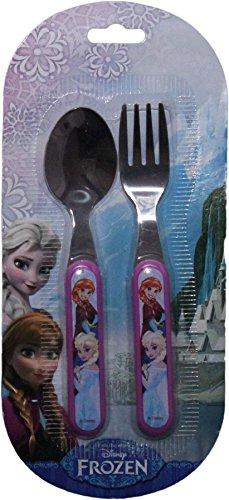 Disney Frozen Childrens Fork And Spoon Cutlery Set By BestTrend