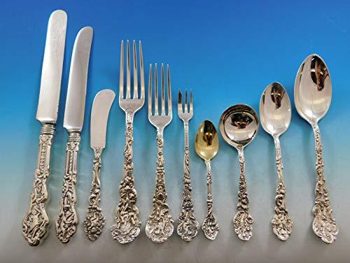 Versailles by Gorham Sterling Silver Flatware Service Set 374 pcs Dinner Kirby
