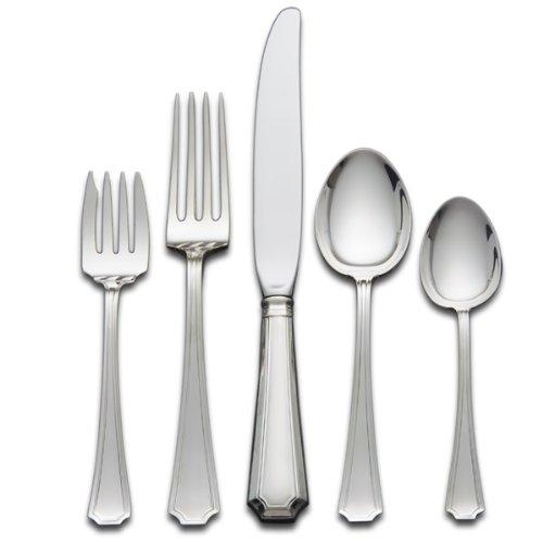 Gorham Fairfax 5-Piece Sterling Silver Flatware Place Set Service for 1