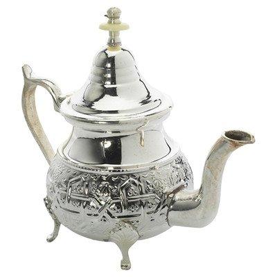 Casablanca Market Moroccan Teapot Large Silver