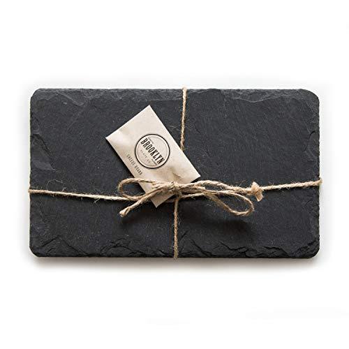 Brooklyn Slate Co Slate Cheese Board 7x12 Black