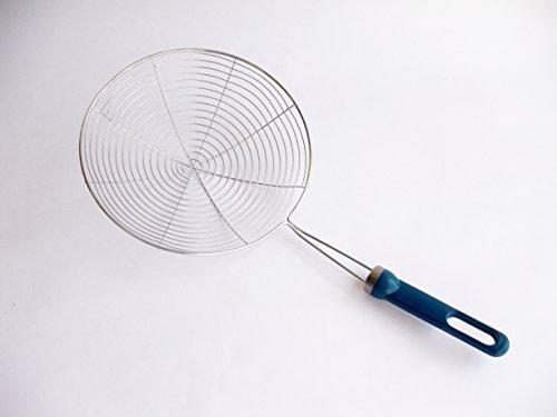 67 17cm Frying Skimmer Strainer Ladle Spoon - ChipsPakoraFalafel Maker