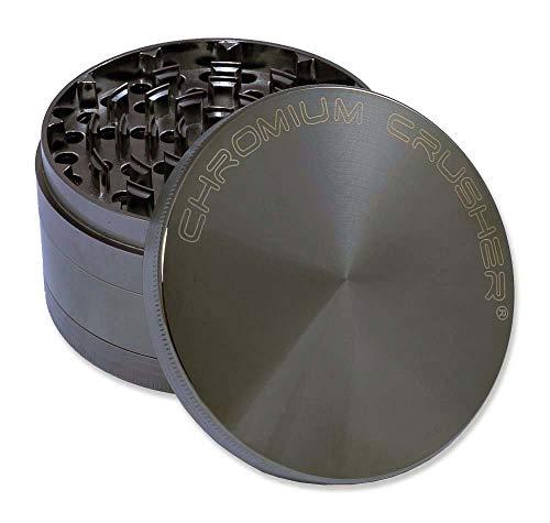 Chromium Crusher 40 Heavy Duty Durable Zinc Tobacco Spice Herb Grinder