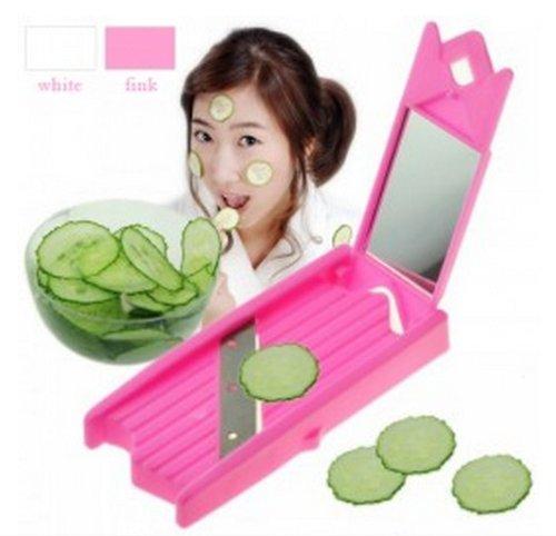 Best4ubuy Portable New Facial Beauty Fruit Cucumber Face Mask Slicer Knife