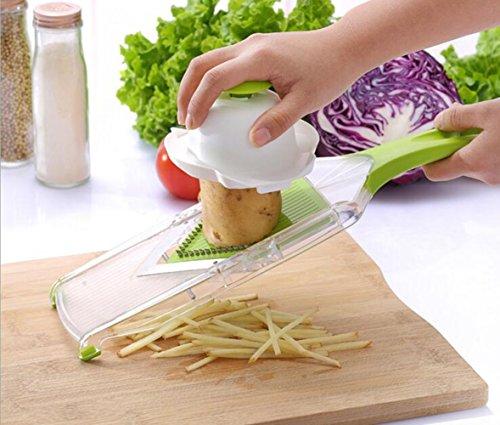 Eiala Losang V-blade Hand-held Mandoline Slicer - Vegetable Slicer - Food Slicer - Cheese Slicer - Fruit Slicer