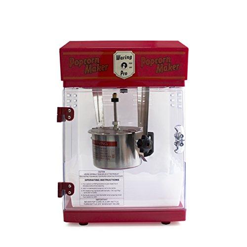 Waring Pro WPM25 Professional Popcorn Maker Red