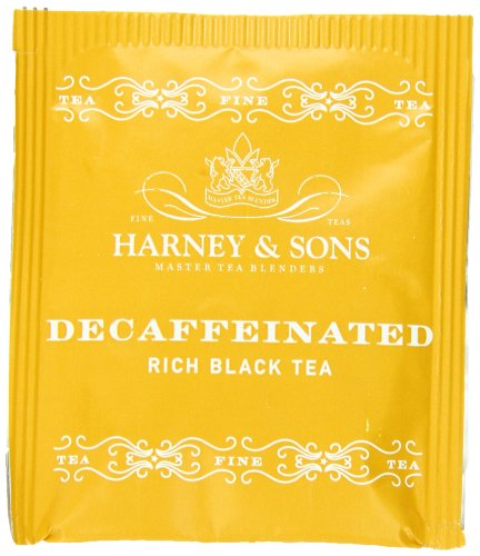 Harney Sons Black Tea Decaffeinated 50 Tea Bags