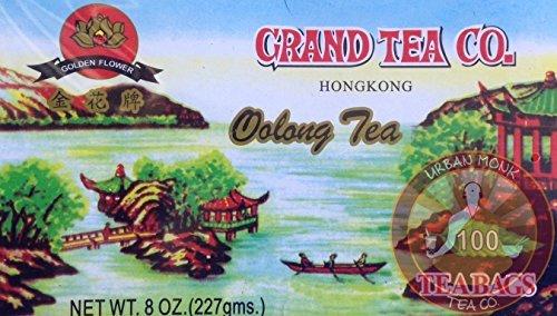 Grand Tea Company Oolong Tea 100 Bags WuYi Tea