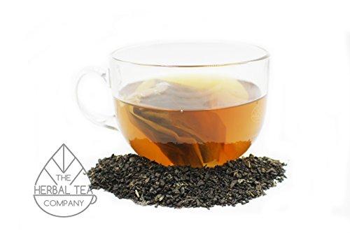 Jasmine Flower Tea Green Temple Tea Blend Tea Bags With Mint Flavour 50 Pack