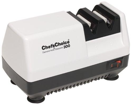 Chef's Choice 300 Diamond Hone Knife Sharpener, White