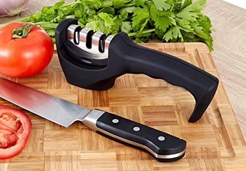 Honestchef 3-stage Self Sharpening Knife Sharpener Chefs Choice Knife Sharpeners - 3 Stage Knife Sharpening System