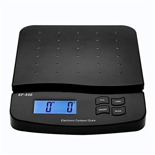 OeyeO SF-550 30KG1G High Precision LCD Digital Postal Shipping Scale Black