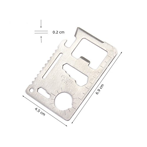 Can Opener Wallet Case Multi Tool