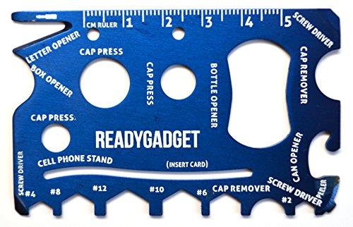 Ready Gadget Essential Oil Swiss Key  Survival Multi Tool Card