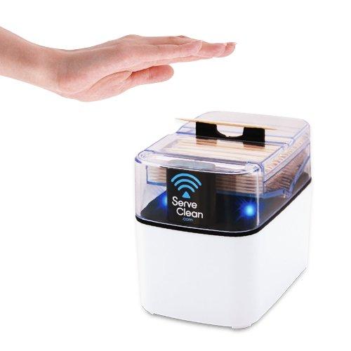 Serve Clean Smart Toothpick Dispenser White