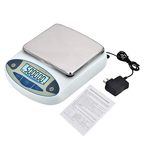 KOOKYOU High Precision Lab Analytical Balance Scale 001g5000g Electronic Balance Laboratory Scale Digital Jewelry Gold Scale Weighing Balance Kitchen Gram Scales