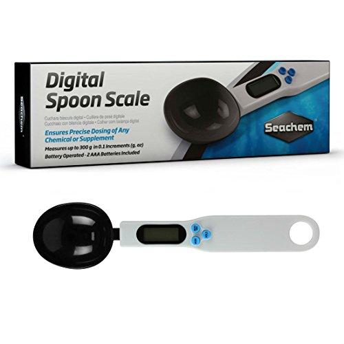 Seachem Digital Spoon Scale Aquarium Supplement Dosing Tool