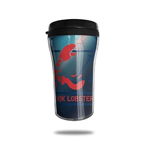 Mug Stainless Steel Maine Lobster Travel Tumbler Small Travel Mug Sport Bottle Cup 12 OZ