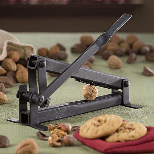 1 X Get Crackin Nut Cracker-Black Walnut English Walnut Pecan Hazel Nut Filbertnut Macadamia
