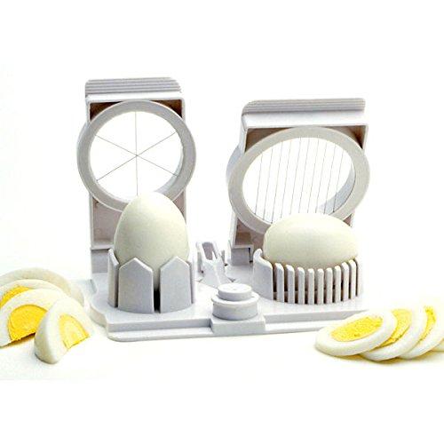 Norpro Egg Mushroom Fruit Strawberry Slicer Wedger Piercer Garnishing Tool New