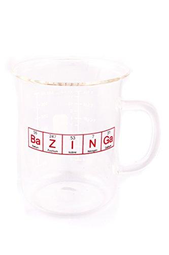 Bazinga Beaker Mug 400 mL inspired by The Big Bang Theory