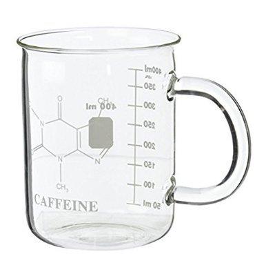 Caffeine Beaker Mug  Premium Laboratory Beaker