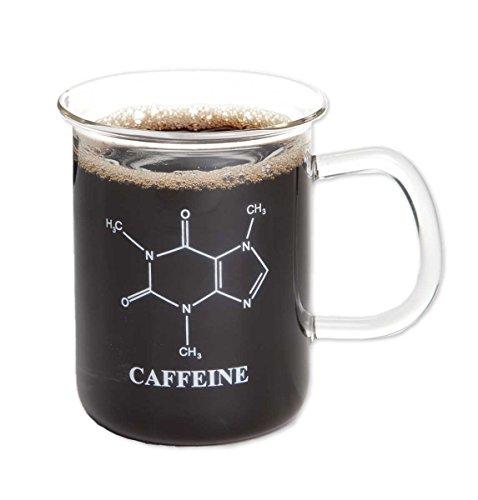 ComputerGear Laboratory Beaker Coffee Mug Caffeine Molecule Science Chemistry