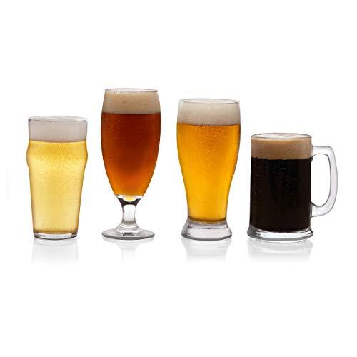 Libbey Craft Brews Assorted Beer Glasses Set of 4