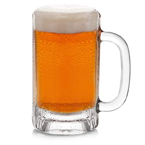 Libbey Heidelberg Glass Beer Mugs 16-ounce Set of 4
