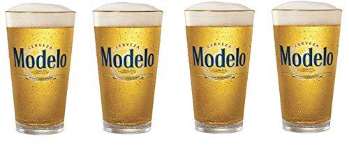 Cerveza Modelo Especial Pint Glass Set of 4