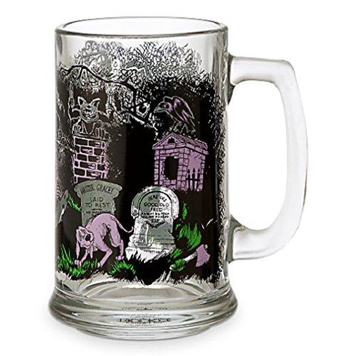 Disney - Disney Parks Attraction Art Glass Tankard - Haunted Mansion - 14 Oz