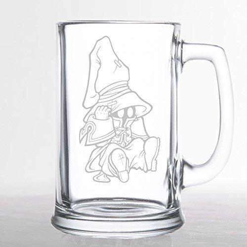 Final Fantasy - Vivi Sitting - Etched Beer Mug