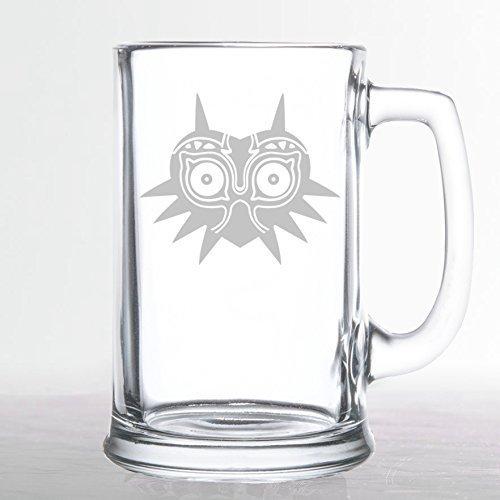 The Legend of Zelda - Majoras Mask - Etched Beer Mug