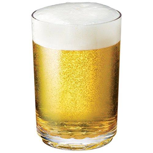 Drinique ELT-PT-CLR-4 Elite Pint Unbreakable Tritan Beer Glasses 16 oz Set of 4 Clear