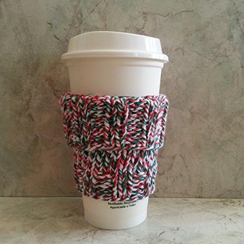 2 in 1 Coffee Cup Cozy Tweed