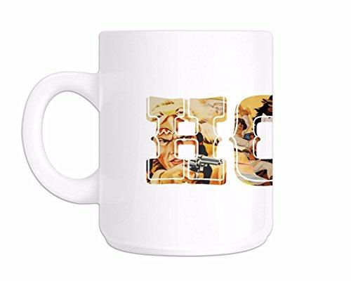 Printed Mug and Coffee Cups Howdy Wild West Funny Mugs Novelty Gift Idea