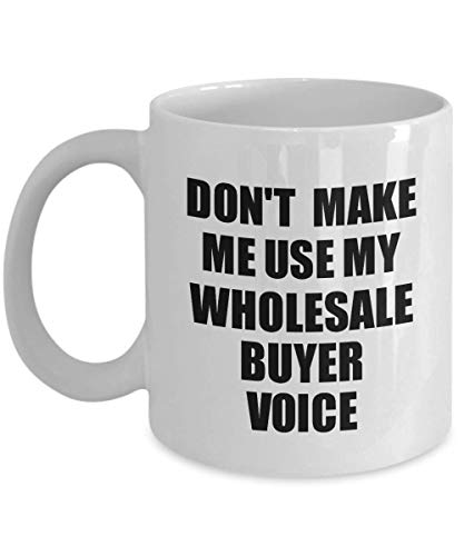 Wholesale Buyer Mug Coworker Gift Idea Funny Gag For Job Coffee Tea Cup Voice