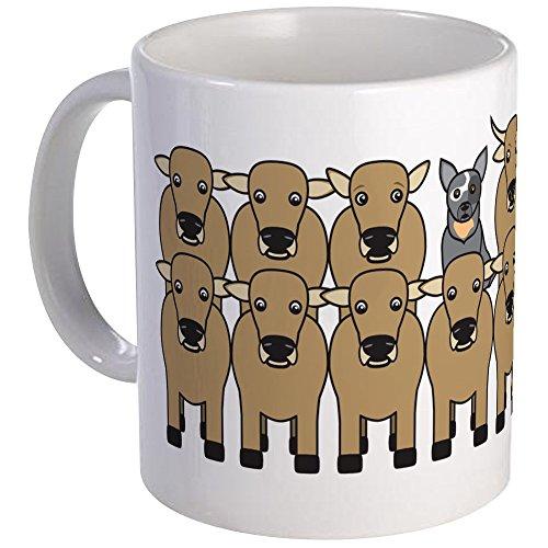 CafePress - ACD And Cattle Mug - Unique Coffee Mug Coffee Cup
