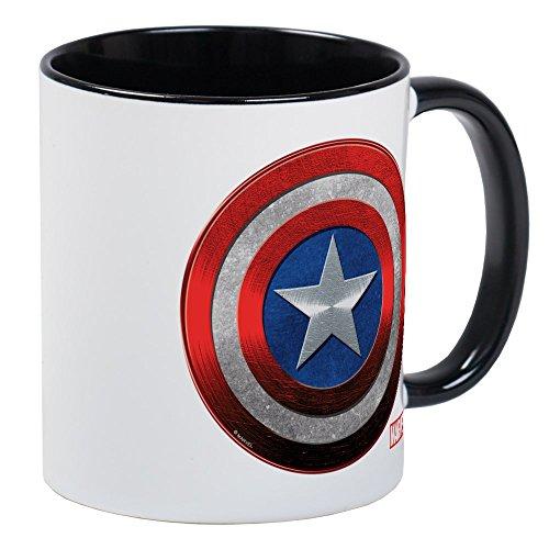 CafePress - Captain America Grunge Mug - Unique Coffee Mug Coffee Cup