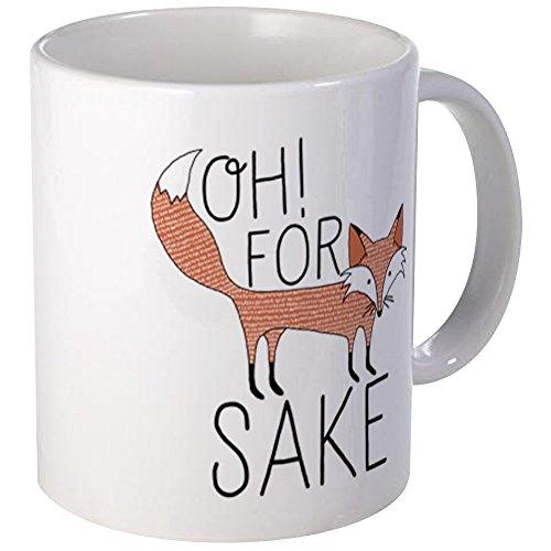 CafePress - Oh For Fox Sake Mugs - Unique Coffee Mug Coffee Cup
