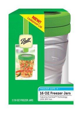 Ball Jar 16-Ounce Plastic Freezer Jar