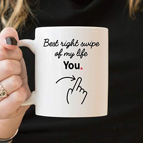 Swiped Right Mug Swiped Right Coffee Mug Online Dating Mug Boyfriend Gift Boyfriend Mug Boyfriend Coffee Mug Dating App Mug