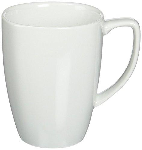 Corelle Square 12-Ounce Mug Pure White Set of 4